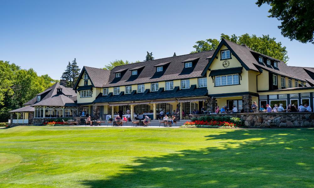 The Kanawaki Golf Club Clubhouse